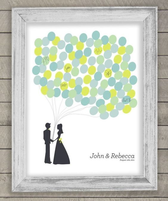 Wedding Guest Book Alternatives | OneWed