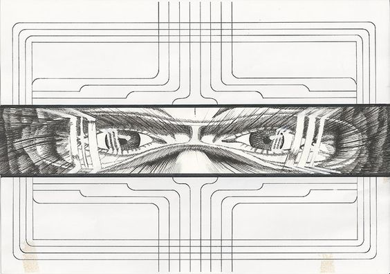 Fabruar: Geschwindigkeit #ProfilKalenderAugenblicke #SciFi #Zeichnung #Zeichner #Zeichnen