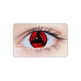 Lentille Contact Cosplay Sharingan Naruto Kakashi Authentique 365 Jrs 1 An X 1