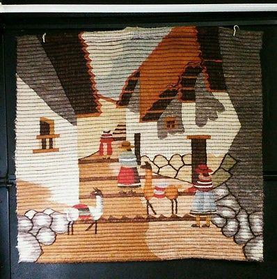Native American Blanket Weaving