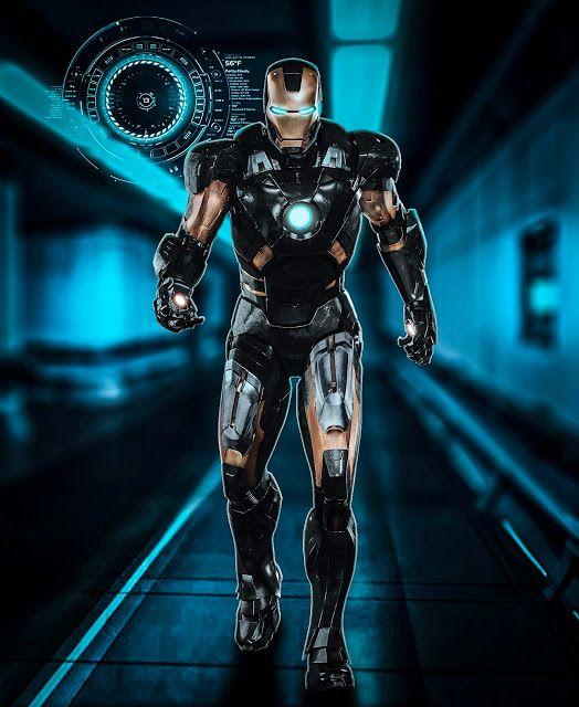 H Graphicspro Iron Man In Black And Gold Armour Iron Man Superior Iron Man Man