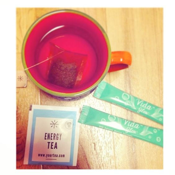 ️Energy Tea is perfect when you need a quick pick me up or to make the most out of your day! Assisting with increased #energy levels, #stamina, increased #concentration & #revitalising the senses, this tea is always a winner! #yourtea #organic #nourish #energytea #vidaglow
