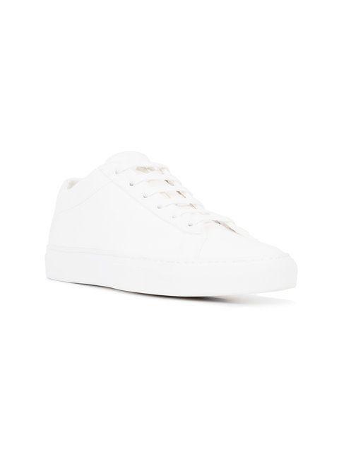 Koio Capri Bianco Canvas Sneakers