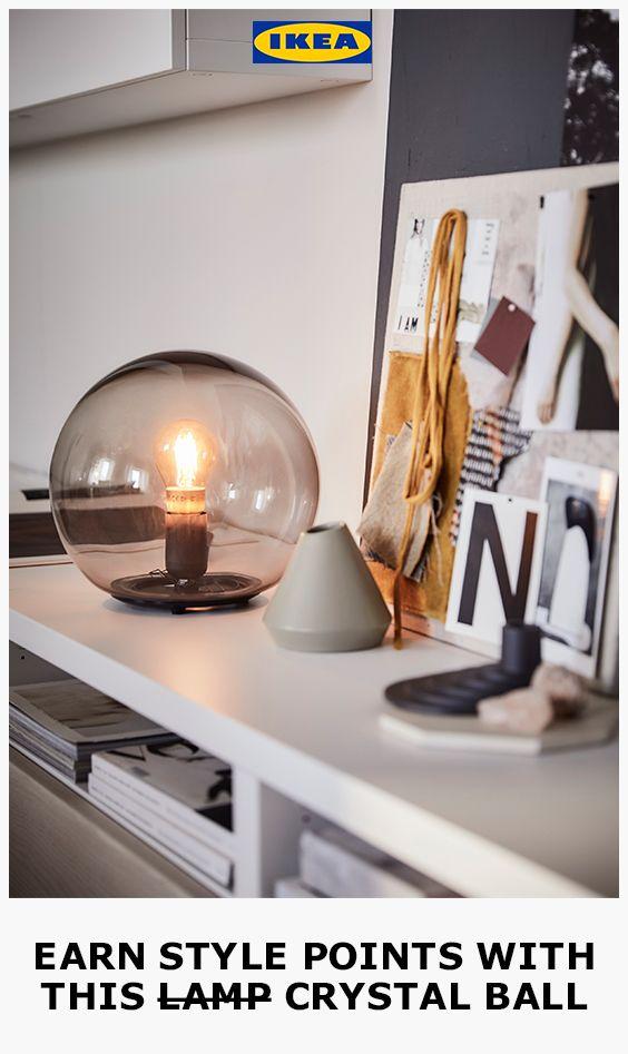 IKEA FADO TABLE Bedside Lamp White