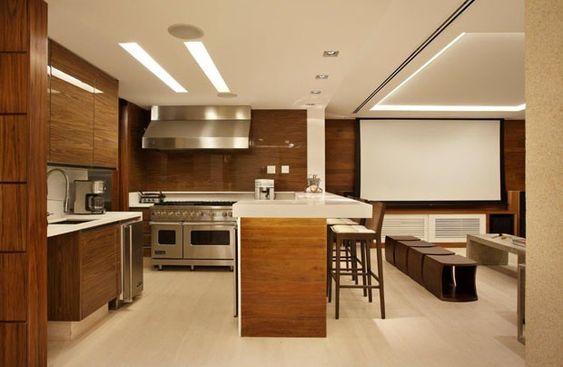 Apartamento Bianca da Hora (Foto: divulgação) LINDO! AMEI! MADEIRA