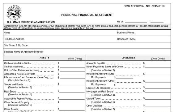 madhu (budhathokis5) on Pinterest - personal financial statement forms