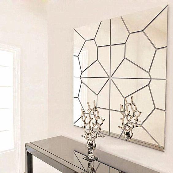 DIY 3D Современные Акриловые Зеркало Наклейки На Стены Настенной Росписи…