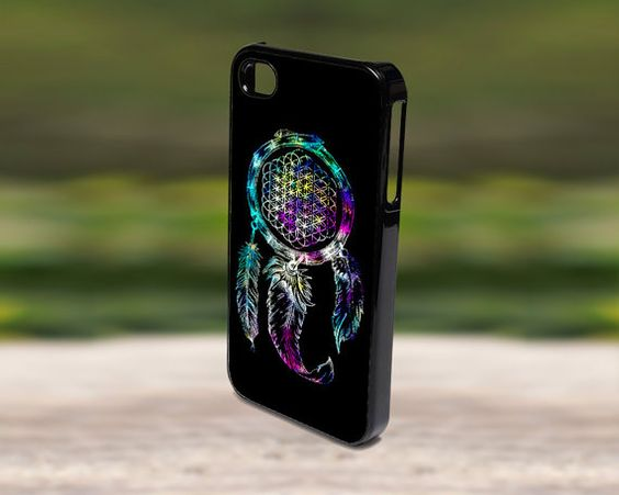 Accessories Print Hard Case for iPhone 4/4s, 5, 5s, 5c, Samsung S3, and S4 - Bring Me The Horizon Dreamcatcher Nebula Galaxy
