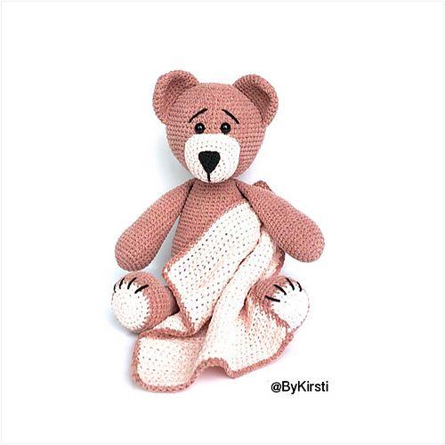 Amigurumi Teddy Bear pattern by Viktorija Dineikiene | Crochet ... | 500x500