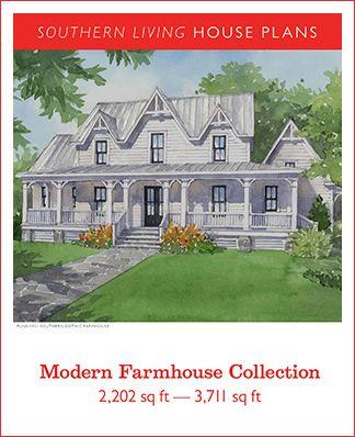 Modern Farmhouse Collection Pdf Southern Living House Plans Best House Plans Southern House Plans