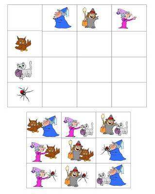 Játékos tanulás és kreativitás: Fejlesztő feladatok, számos színezők halloween jegyében