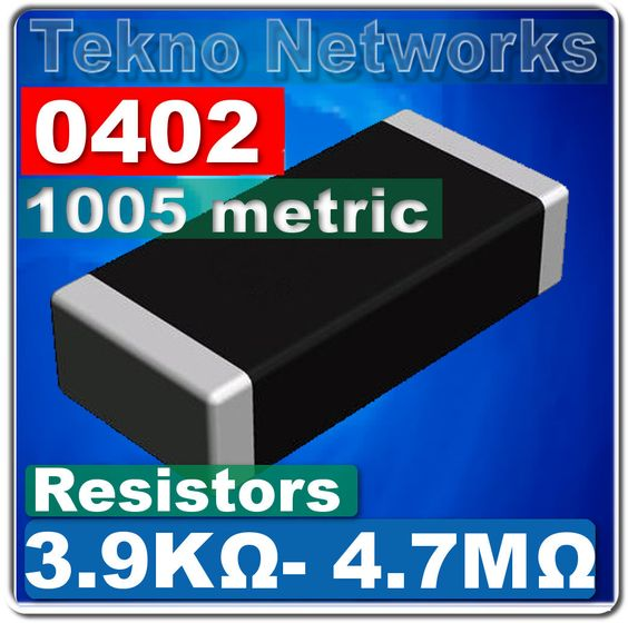 0402 1005 Metric Smd Smt Resistors 200pcs Range 3 9k 4 7m Ohms Ebay In 2021 Resistors Streaming Device Ebay