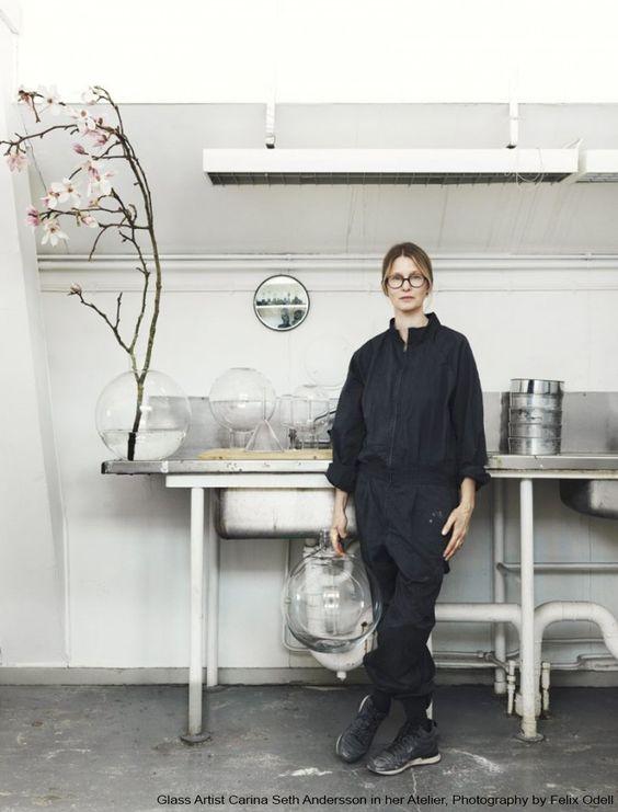 Glas Design - Carina Seth Andersson / Heimelig-Shop: