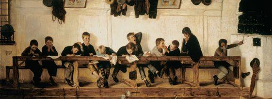 Titre de l'image : Gustav Igler - Sur le banc des cancres