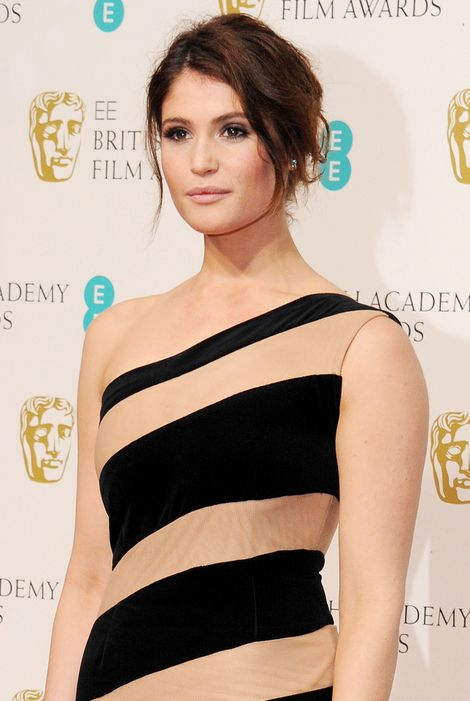 Lisa Eldridge Make Up || Gemma Arterton at the Baftas