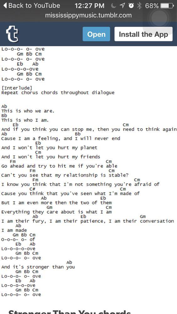 Stronger than You- Steven Universe Ukulele pt.2