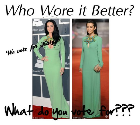 """""""Who wore it better ?"""" by annadragon99 ❤ liked on Polyvore"""