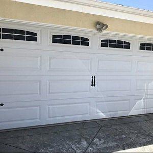 Craftsman Style Faux Garage Door Windows Vinyl Decals No Etsy Garage Doors Faux Garage Door Windows Garage Door Styles