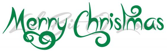 Merry #Christmas Whimsical Vinyl #Decal Sticker for by #LilBitOLove