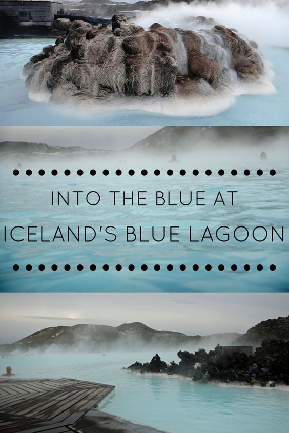 Everything you need to know about taking a dip in Iceland's Blue Lagoon #iceland