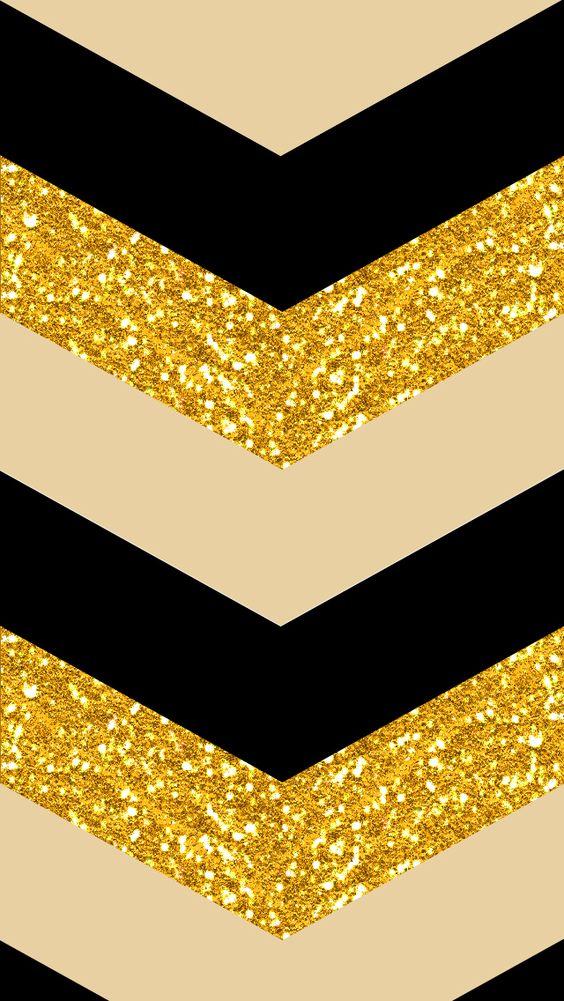 black & gold iPhone 5 wallpaper