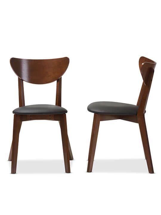 Mid Century Dining Chair (2 Set)