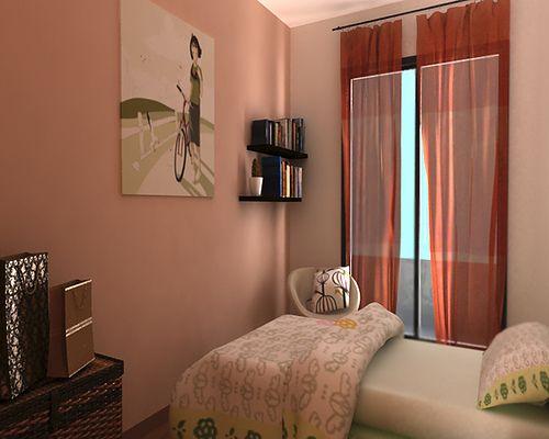Colores para pintar habitaciones peque as con poca luz lo - Colores para pintar una casa ...