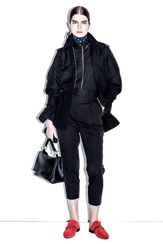 3.1 Phillip Lim Pre-Fall 2016 Fashion Show