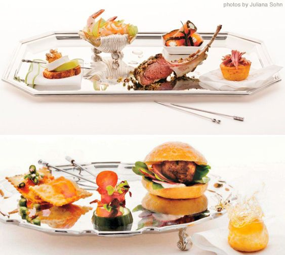 Elegant canapes made with food from costco town country for Classy cuisine canape maker