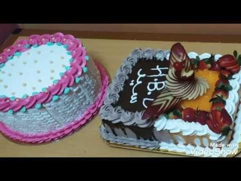 طريقة تزيين التورته How To Decorate The Cake Youtube Cake Cake Youtube Desserts