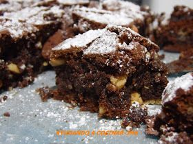 Ayudando a Cocinar.: Brownie de Frutos Secos