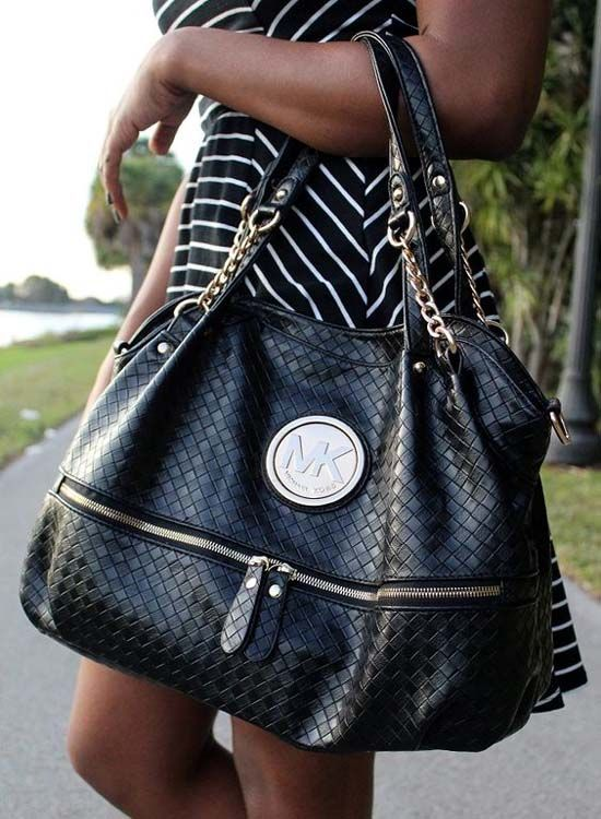20 beautiful Black Michael Kors Bags for 2018 nel 2020 | Borse
