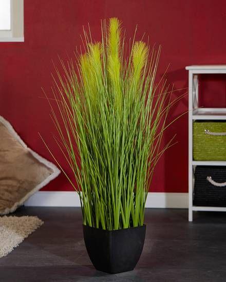 Deko-Gras (100 cm) Ideen rund ums Haus Pinterest Shops - wohnzimmer deko grau weis