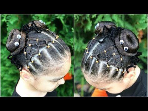 19 Peinados con chongo para ninas
