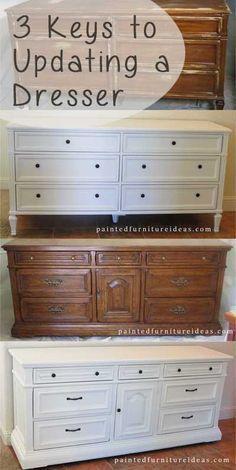 Semelhante A Minha Mobília Do Quarto Quero Pintálo Agora - Update old bedroom furniture