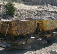 Granby Carros de Volteo de  Mineral lateral 24inch