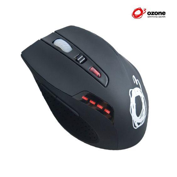 Ozone Radon 3k, un ratón para jugar. Pero también para más cosas, este tipo de ratones con control de Dpis me encantan para diseñar