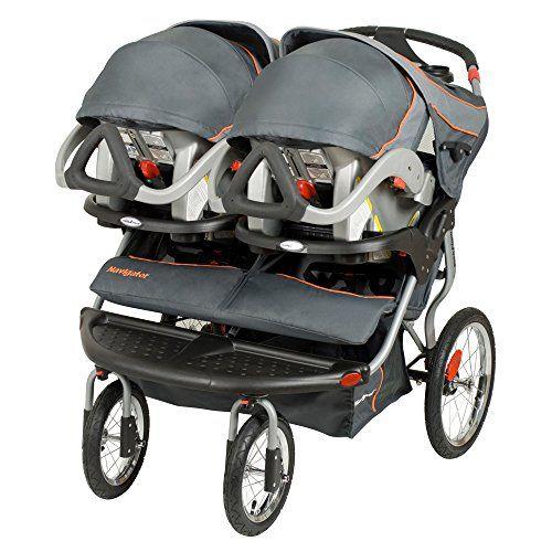 Baby Trend Navigator Double Jogging Stroller, Vanguard