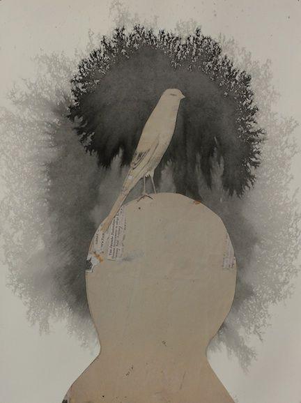 Head with Bird.72 Stas Orlavski