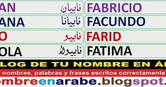 Plantillas De Nombres En Letras árabes Que Empiezan Con La Letra F Escritos Con Un Estilo Bonito Nombres En Letras Arabes Tatuajes Letras Arabes Letras Arabes
