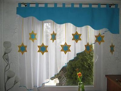 Kurzgardine kinderzimmer ~ Vorhang set fensterdeko kinderzimmer cm cm handarbeit
