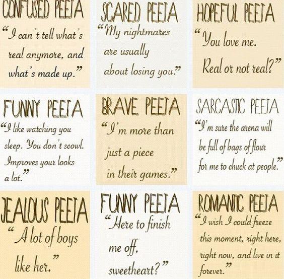 Love all of them!!!!! Team Peeta!!!