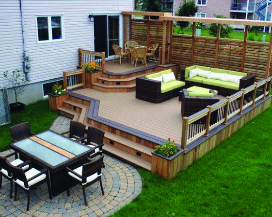 10 Beautiful Easy Diy Backyard Decks Patio Deck Designs Deck