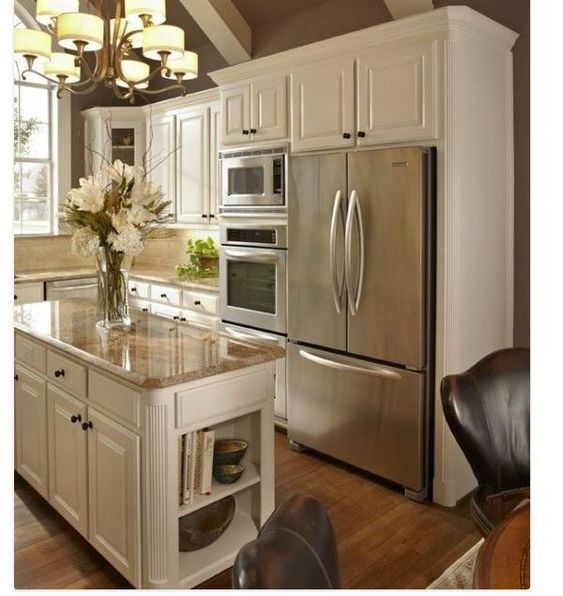 Kitchen Layout With Double Oven: Wall Ovens, Ovens And Refrigerators On Pinterest
