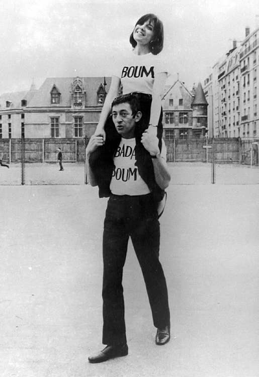 Minouche Barelli and Serge Gainsbourg