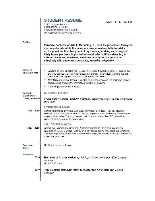 Cv Template Job Centre Centre Cvtemplate Template Job Resume Format Job Resume Template Student Resume Template