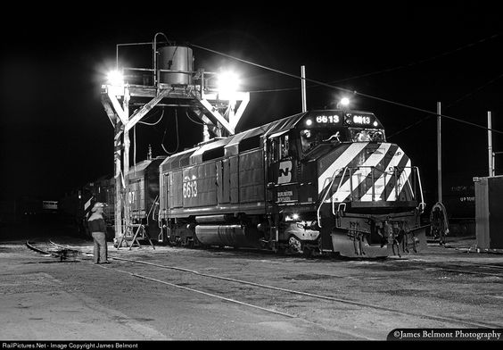 RailPictures.Net Photo: BN 6613 Burlington Northern Railroad EMD F45 at Provo, Utah by James Belmont