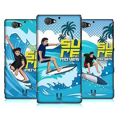 Head case #designs #surfing moves hard back case for sony #phones 4,  View more on the LINK: http://www.zeppy.io/product/gb/2/351608244956/