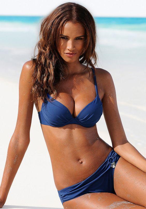 push up bikini blau von s oliver lascana beach girl pinterest push up bikini push up. Black Bedroom Furniture Sets. Home Design Ideas