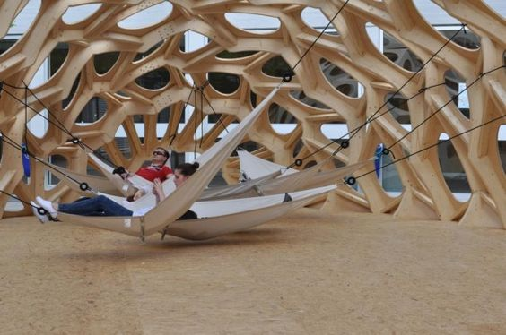 The Bowooss Bionic Inspired Research Pavilion: